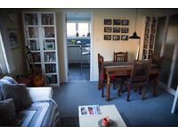 Kelvindale -Furnished 2-bed flat available - storage heating, double glazing, secure entry, parking