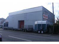 GARAGE / WORKSHOP (former ATS garage) with rear yard/office/kitchen/stores.