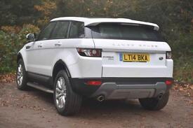 Land Rover Range Rover Evoque SD4 PURE (white) 2014-03-12