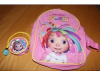 Everything's Rosie Rucksack and matching purse childrens girls bag