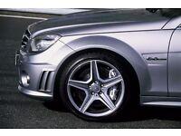 """18"""" MERCEDES ALLOYS WHEELS C63 AMG STYLE W212 W169 W203 W204 W215 CLA CLK CLS"""
