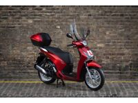 Honda SH 125, 1 owner, Full service history, lots of accessories.