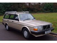 Classic Volvo 240 GL Auto Estate. 2 Owner - Lovely Old Skool Example..