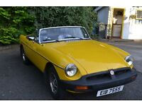 1980 MGB for sale. £3500 ono