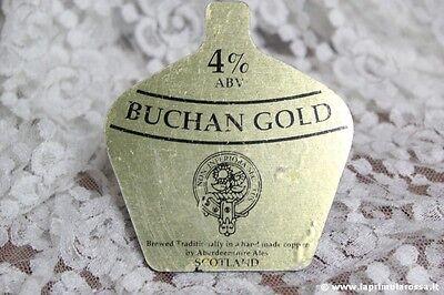 BUCHAN GOLD BEER CLIP VINTAGE  X POMPA DI BIRRA VINTAGE PUMP CLIP