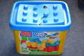 first lego mega blocks