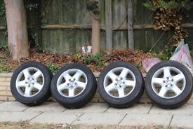 Volkswagen VW T5 Transporter / Camper Van Solace 5 Spoke Alloys and Tyres 17 inch