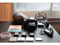 Canon 400d with 18-55mm bundle