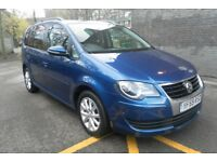 VW TOURAN 7 SEATER 2010 MODEL 2.0TDI (140) MATCH EDITION TOP SPEC