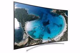 Samsung 65inch Cinema Screen Ultra Curved Full 3D Smart TV Amazing picture and sound Series 8 H8000