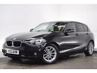BMW 1 SERIES 1.6 116D EFFICIENTDYNAMICS 5d 114 BHP (black) 2013