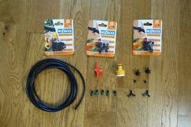 Hozelock 4mm micro irrigation packs sprinklers, misters unused leftovers inc packs 2778 & 2782