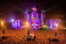 Boomtown ticket with coach from Oxford for sale