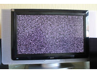 Acer AT3201W 32 inch LCD Colour TV VGA DVI Monitor + free delivery in Lincoln city house move