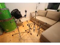 Drum hardware Set (hihat stand, snare stand, cymbal stand)