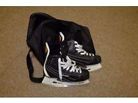 Bauer ice skates, size 9