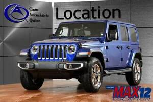 2019 Jeep WRANGLER UNLIMITED Sahara CUIR NAV COLORMATCH 8.4'' TO