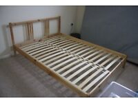 Ikea Double Bed Frame Wood