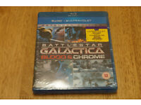 Battlestar Gallactica Blood And Chrome (Blu-ray) New And Sealed