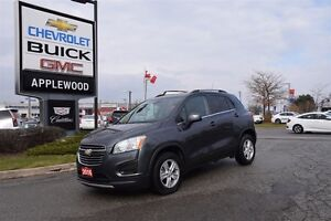 2016 Chevrolet Trax AWD LT, Power Sunroof, Cruise Control, Power