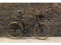 Christmas sale!!! Steel Frame Single speed road bike track bike fixed gear racing fixie bicycle a5