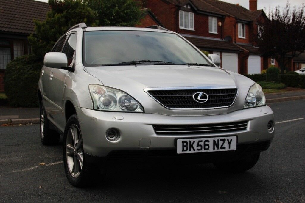 lexus rx 400h petrol and electric hybrid. 12 months mot. premium