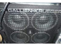 Gallien Krueger 4x10 bass cab