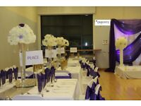 Hire Your White / Black Spandex Chair Covers for just 99 Pence