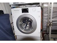 Integrated Washing Machine CDA C1325 only 6 months old with over 4 years Guarantee remaining
