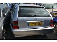 1998 - Mercedes Benz C Class - Petrol - BREAKING for SPARE PARTS.