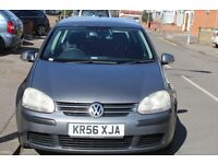VOLKSWAGEN GOLF 2006 06 PLATE EXCELLENT DRIVE AUTOMATIC