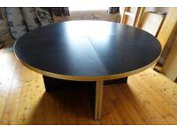 Large Round Modular Table
