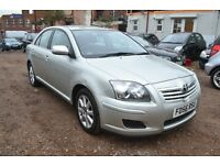 TOYOTA AVENSIS 2.0 D-4D T3-S 5dr (silver) 2006