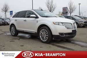 2012 Lincoln MKX LIMITED PKG NAVI LOW KM'S LEATHER SUNROOF LOADE