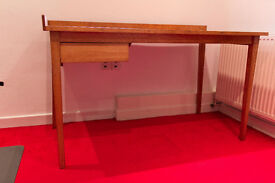 Hand-built Genuine mid-century modern Wooden Office Table