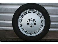 Mercedes Sportline W126 S Class SEC R107 SL forged alloy wheel - 7 x 15 ET25 - A1264003002