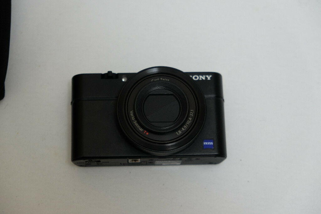 ****SOLD*****Sony Cyber-shot RX100 MK1 20.2MP Compact Camera and Sony VFA-49R1 filter adapter