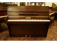 Squire & Longson modern upright piano and stool - Tuned & UK delivery available