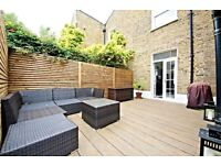Amazing 3 bedroom period house with private garnde in Brixton