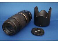Tamron SP 70-300mm f/4-5.6 Di VC USD Telephoto Zoom Lens for Canon Full Frame Digital SLRs