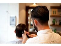 Neville Barber at Barber and Parlour, Shoreditch