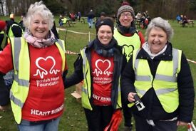 Events Volunteers needed for the British Heart Foundation
