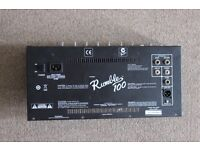 Fender RUMBLE 100 Bass AMPLIFIER Chassis for spares or repair £ 50 or swaps for pedals