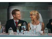 Wedding Vintage Mr Mrs sign