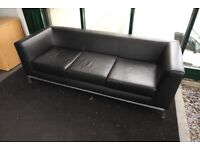 Sofa and matching table