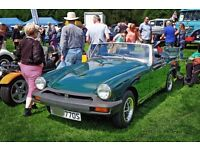 MG Midget 1500 1978 in excellent condition