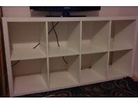ikea kallax shelving unit/ bookcase £20