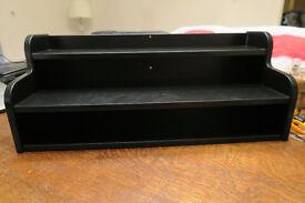 Ikea Klimpen Desk Shelving Unit Add On Black 58cm x 23xcm Drawer