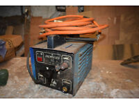 ARC Welder. AC. 140A for 70%. 100A continuous. With torch, earth clamp and cables.