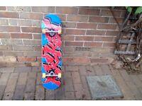 Skateboard - Rocket AM Graffiti Series